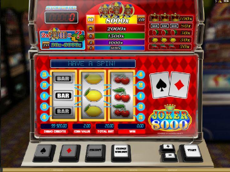 Hrací automaty Joker 8000 - Pokud jste vždy toužili vyzkoušet některý z…
