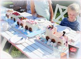Bildresultat för glasstårta 3-års kalas