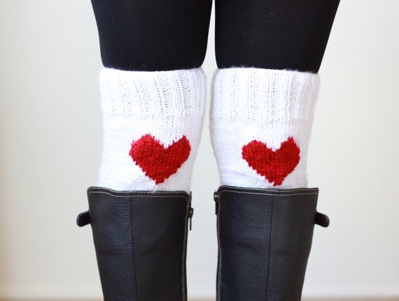 Hey, I found this really awesome Etsy listing at https://www.etsy.com/listing/166131910/winter-sale-knit-heart-boot-cuffs-women