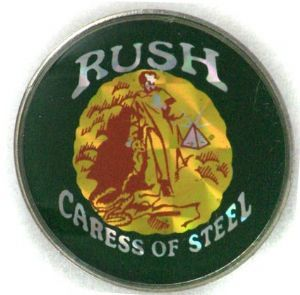 Rush - 'Caress of Steel' Prismatic Crystal Badge