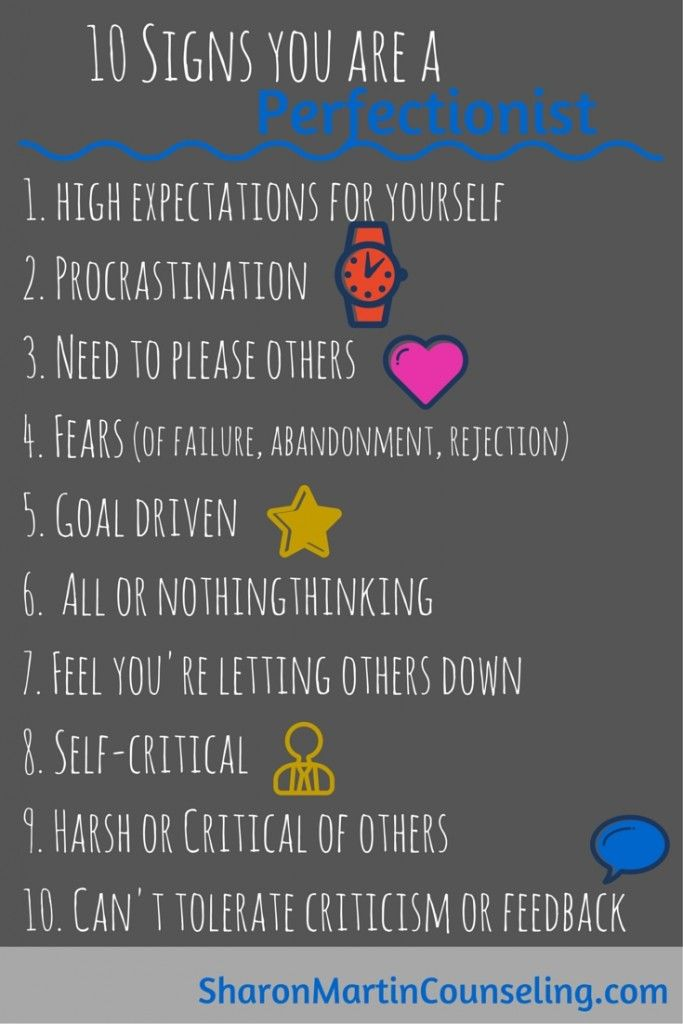 Signs you are a perfectionist #perfectionist Never thought of myself as a perfectionist but I agree with everything on this list