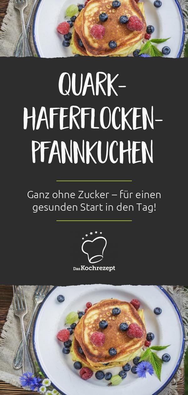Quark-Haferflocken-Pfannkuchen