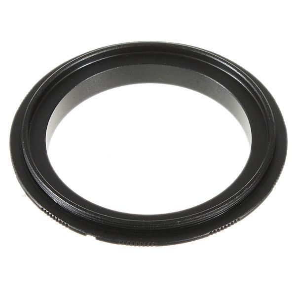 58mm Eos Macro Reverse Adapter Ring For Canon 550d 600d 1000d Ef Mount. Description:  Allow any 58mm lens become a Macro lens on Canon EOS camera body Extremely effective for macro photography Not focus to infinity, no electrical connection Easy to install, remove and use, durable and reliable for long-term use No ROM connection on the ring so diaphragm control of the lens is set manually Automatic diaphragm, auto-focusing, or any other functions will not operate correctly with using this…