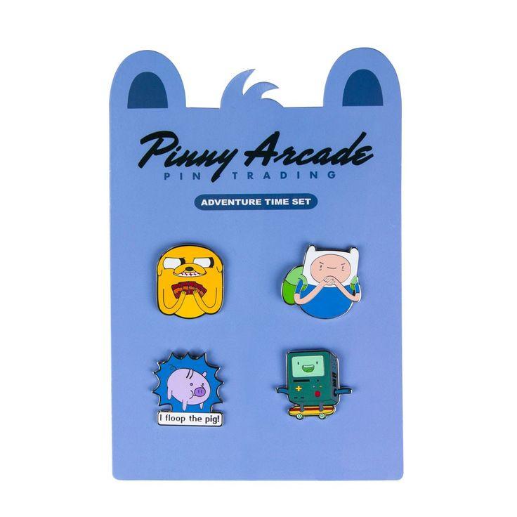 Pinny Arcade Adventure Time Pin Set