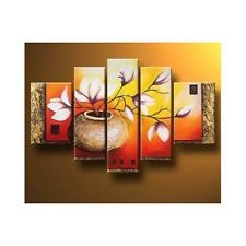 Stretched Framed Modern Canvas Wall Art Set Hand Painted Oil Painting Livingroom