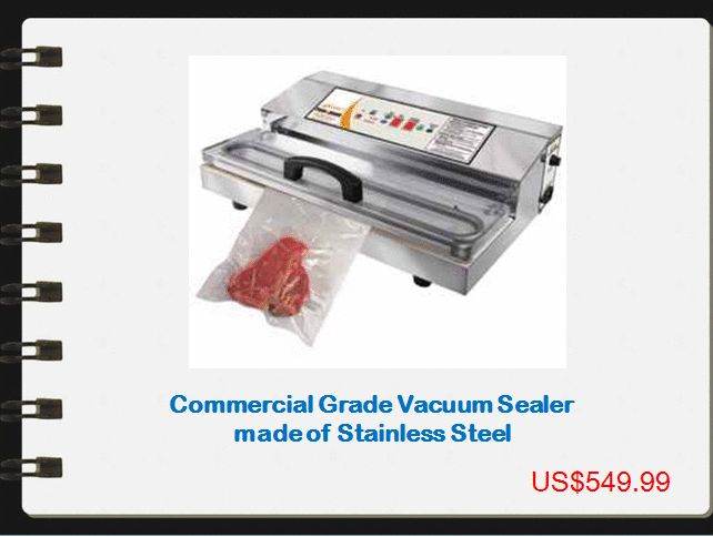 Proprocessor is a reliable online seller of #commercial #vacuum #sealer and accessories in the USA. Browse our extended product range of products for vacuum packaging.  Get more information: http://www.proprocessor.com/vacuum-packaging.htm