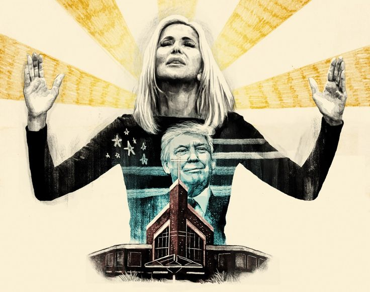 """Because of Paula White, evangelicals have """"an unprecedented opportunity to have our voice and say heard"""" in the Oval Office."""