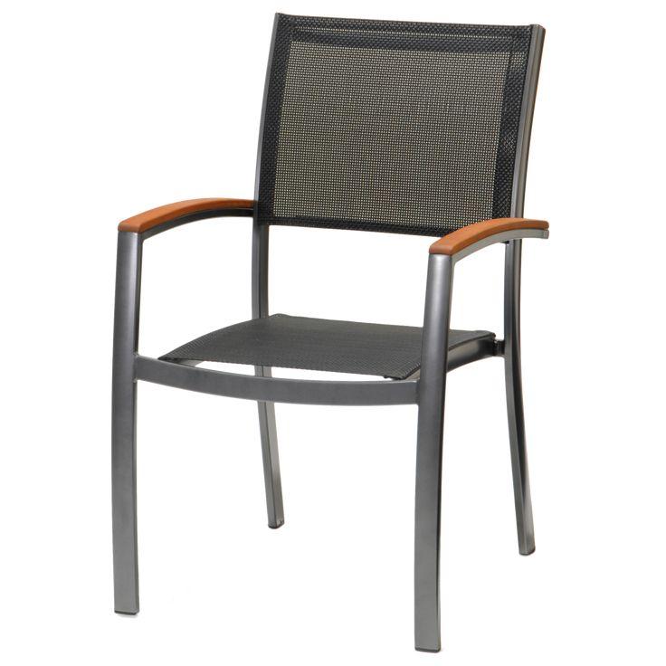 Italica kerti aluminium szék, egymásba rakható Szék