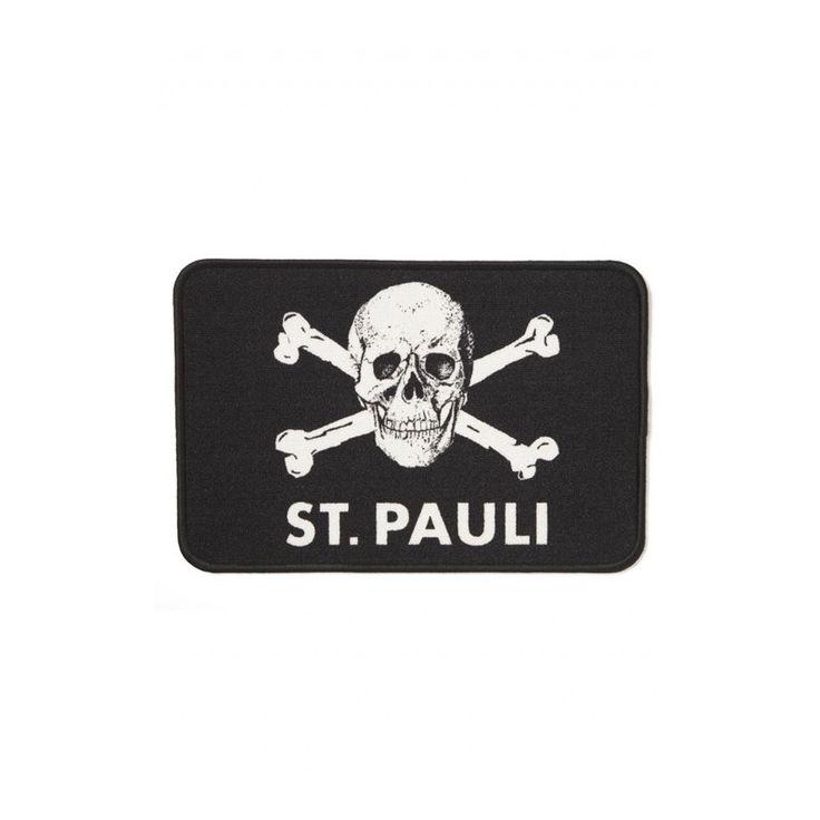 St. Pauli Skull and Crossbones Doormat