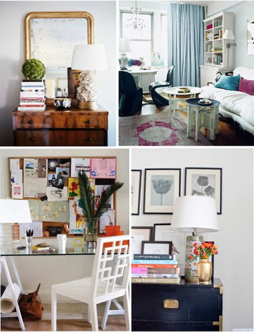 Apartment inspiration or small homes declutter is key we Decorating my first apartment
