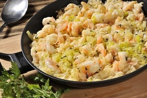 Arroz con camarones y albahaca | Cocina y Comparte | Recetas. @conapesca publicó en @cocina y comparte esta #receta fácil