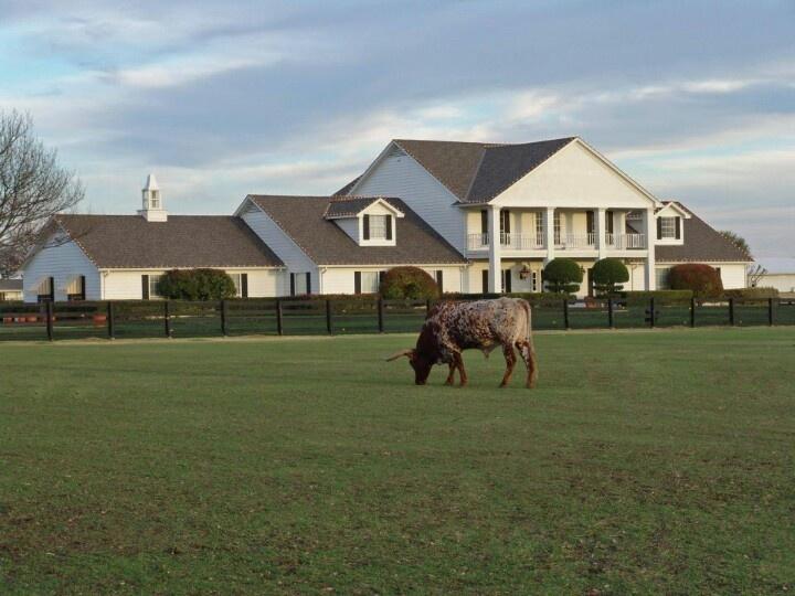 Southfork Ranch in Plano, Texas (Dallas TV show)