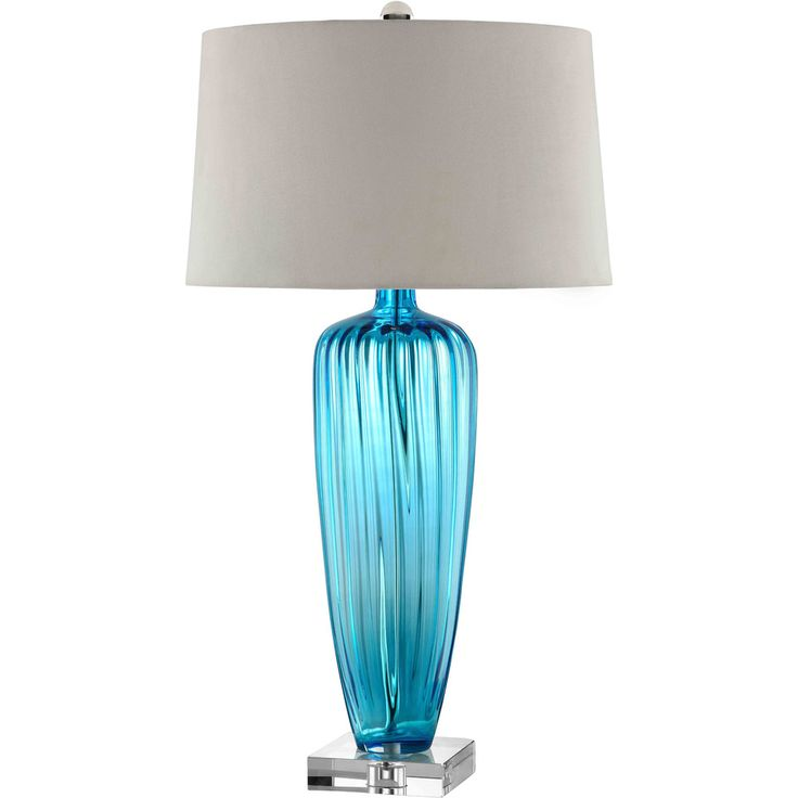 25 Best Blue Table Lamp Ideas On Pinterest Blue Lamps