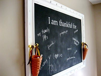 This and That Creative Blog: Thankful Wall
