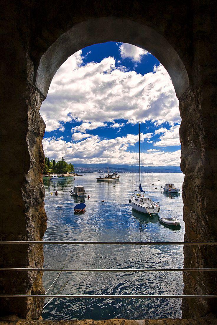 Ika, Croatia, Adriatic Sea