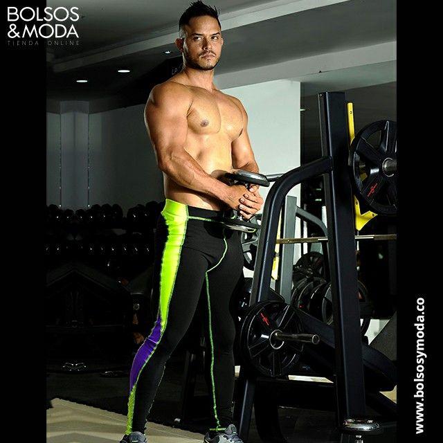 Malla deportiva para hombre. Entrena con confianza. #fitness #mallas #leggins #leggings #crossfit