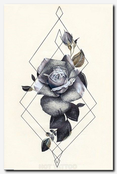 Geo Rose Ii Classroom Creativity Pinterest Tattoos Tattoo