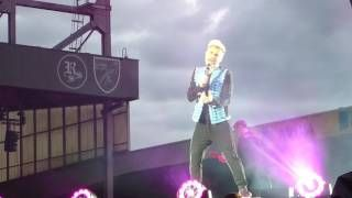 How Deep Is Your Love - Take That at Carrow Road.  Live Wonderland Tour at Carrow Road Norwich on Thursday 15th June 2017.