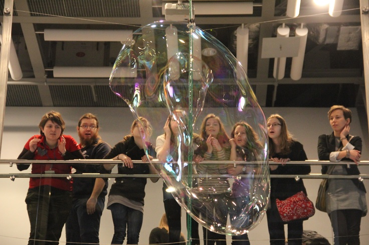 Blow your own (large) bubble at the Copernicus Science Centre