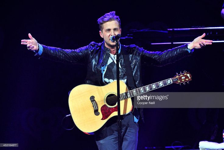 Recording artist Ryan Tedder of OneRepublic performs onstage during 106.1 KISS FM's Jingle Ball 2013 at American Airlines Center on December 2, 2013 in Dallas, Texas.