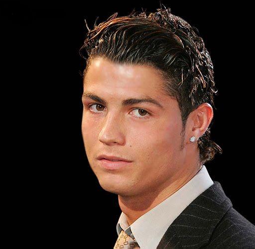 cristiano ronaldo 2001 hairstyle