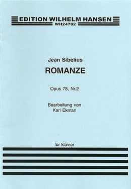 Romanze by Jean Sibelius ...very tricky piece but awfully beautiful once it's mastered.