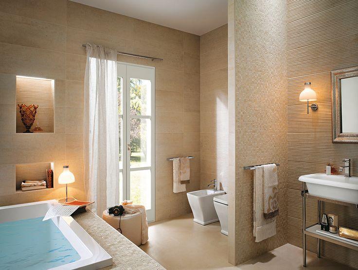 Fap ceramiche bathroom tiles and floor coverings ideas for Bathroom floor covering ideas