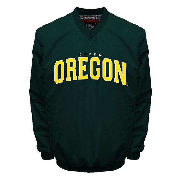 Men's Franchise Club Oregon Ducks Squad Windshell Jacket, Size: Medium, Green