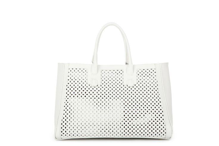 "Vintage Princess ""Lily Pond"" shoulder bag in White  www.raspberryberet.net.au  #newarrivals #lasercut #white"