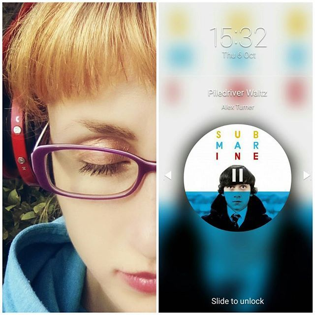 iddwex/2016/10/06 21:51:37/Bliss by listening #PiledriverWaltz. 🎧🎶✨ #collage #indie #music #rock #indiemusic #indierock #ArcticMonkeys #AlexTurner #Submarine #face #halfface #selfie #mood #inthemood #коллаж #инди #музыка #рок #индимузыка #индирок #АлексТернер #лицо #селфи #настроение