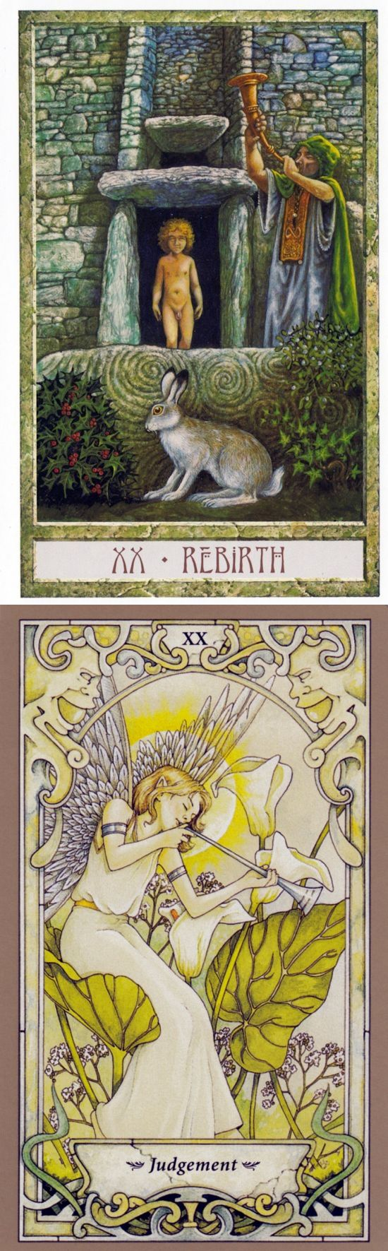 JUDGEMENT: reckoning and lack of self-awareness (reverse). Druid Craft Tarot deck and Mystic Faerie Tarot deck: universal waite tarot deck, free angel card reading yes or no vs tarot for beginners. New lenormand meanings and predictions of next war. #justice #altar #androidgame