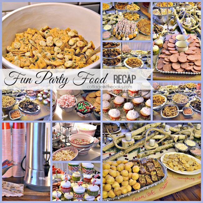 Annual Christmas Party Recap with Christmas Party food ideas and recipes…...