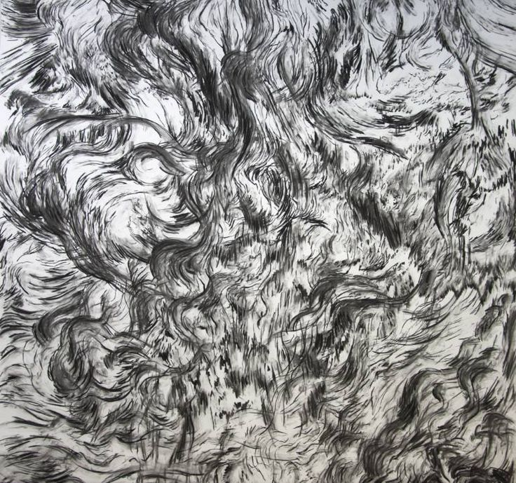 "Saatchi Art Artist Dennis Happé; Drawing, ""Whisper #3"" #art"