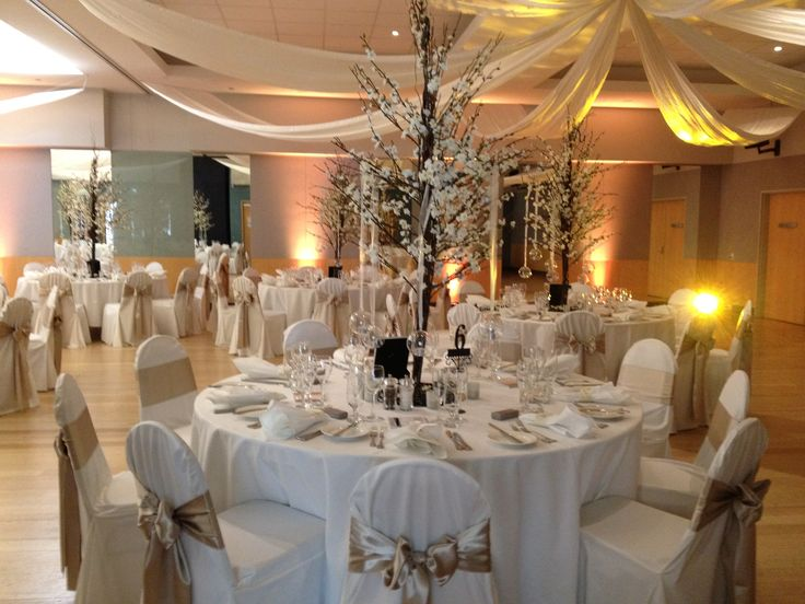 Stunning Wedding White & Gold Themed Wedding