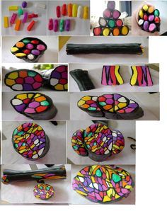 cane tutorials polymer clay - Google Search