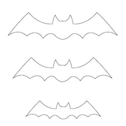 Ghosts & Bats Patterns for Halloween