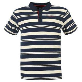 Tricoul polo pentru barbati marca Pierre Cardin are un model in dungi, 3 nasturi la anchior si emblema brandului Pierre Cardin brodata pe piept in partea stanga pentru un plus de stil si eleganta .