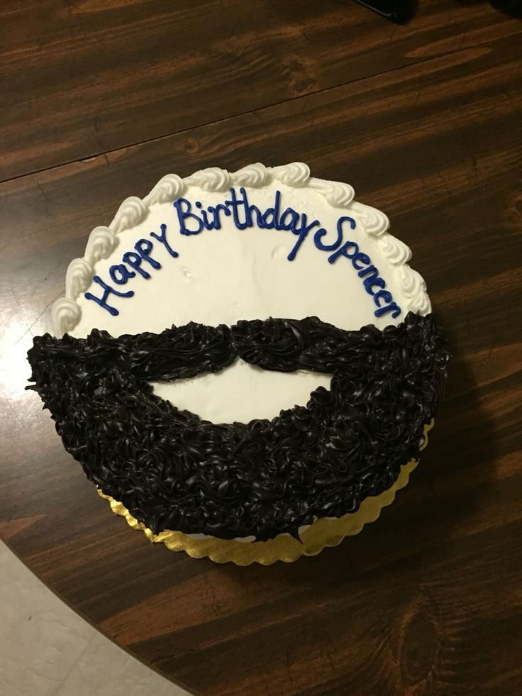 A Bearded Birthday Cake For My Son Yum Birthday Cake