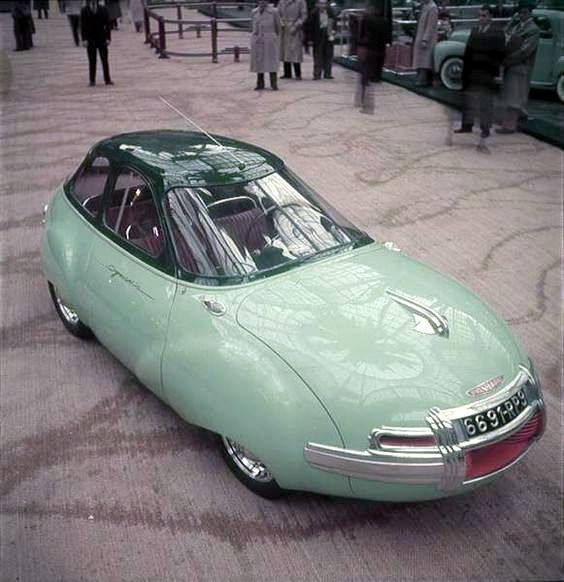 1960 Citroen concept.