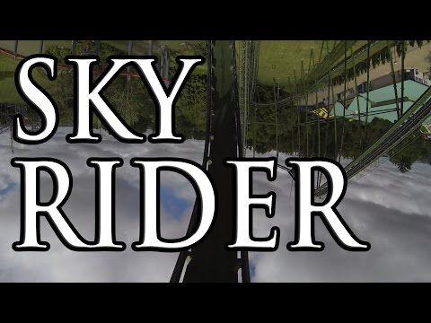 Sky Rider (Stand-Up Roller Coaster) Canada's Wonderland - Toronto - http://rollercoasterhq.net/sky-rider-stand-up-roller-coaster-canadas-wonderland-toronto/
