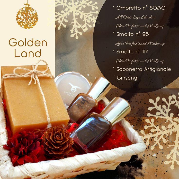 [Centro estetico Je m'Aime] IDEE REGALO Natale 2014. Golden Land. //search--> #beauty #christmas #gift #parma// *Facebook: www.facebook.com/JemAimeParma