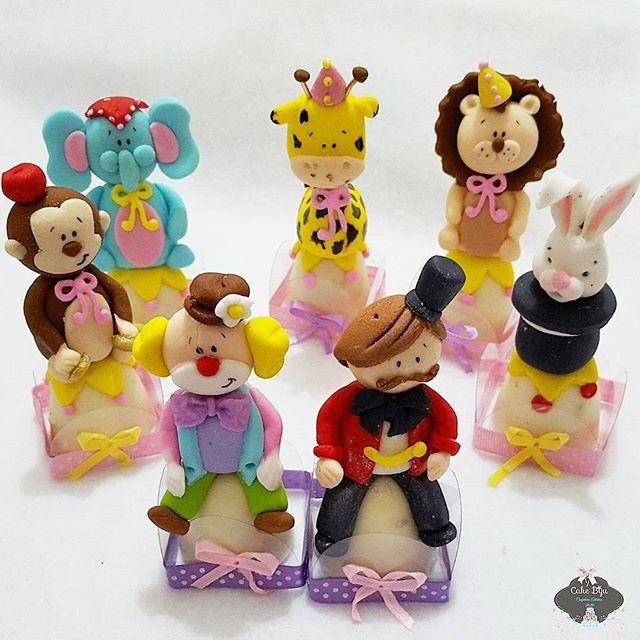 Resultado de imagem para doces decorados personagens do circo