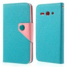 Capa Book Huawei Ascend Y530 Cinto Magnética Azul Celeste Turquesa 9,99 €