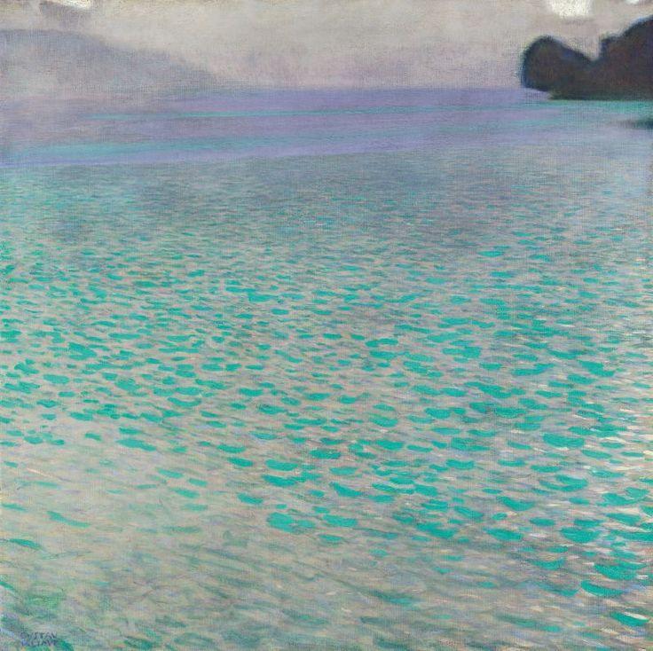 attersee I, gustav klimt, 1900