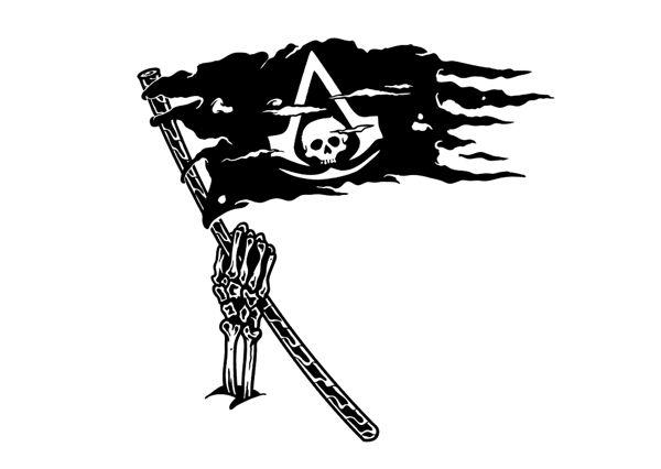 ASSASSINS CREED BLACK FLAG / TATTOO