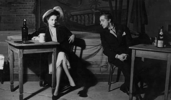 Maria Mercader and Vittorio de Sica in W. Saroyan's The Time of Your Life, c. 1945 (theatre)