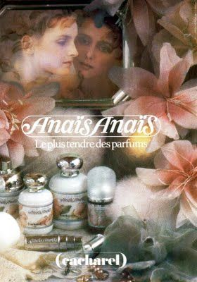 80's Anais Anais by Cacharel ad - this was one of my favourite perfumes.