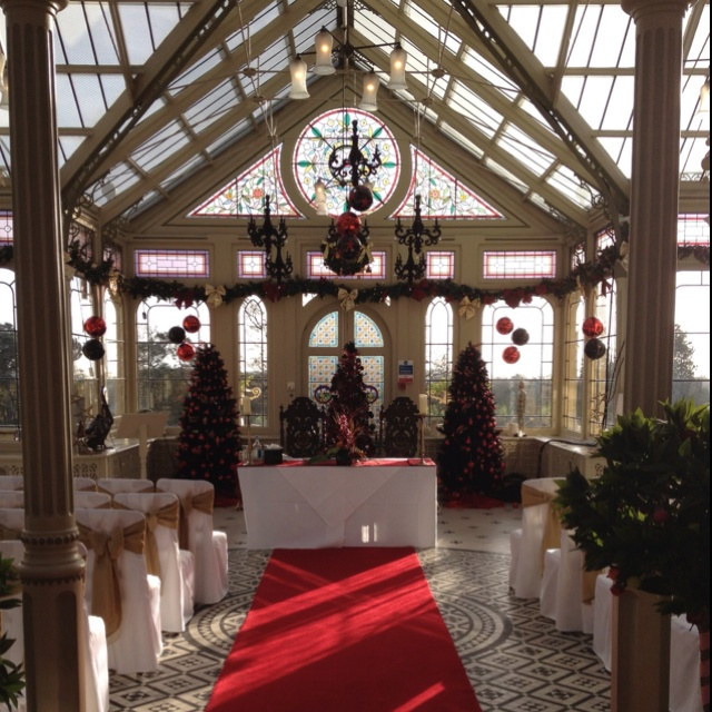 If Only I Could Remember Where This Was Somewhere In South Leicestershire Pre Christmas Beautiful Wedding Venueswinter Wonderland