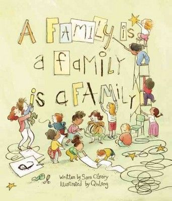 Uma família é uma família é uma família – por Sara O'Leary (capa dura)   – Resources for Families