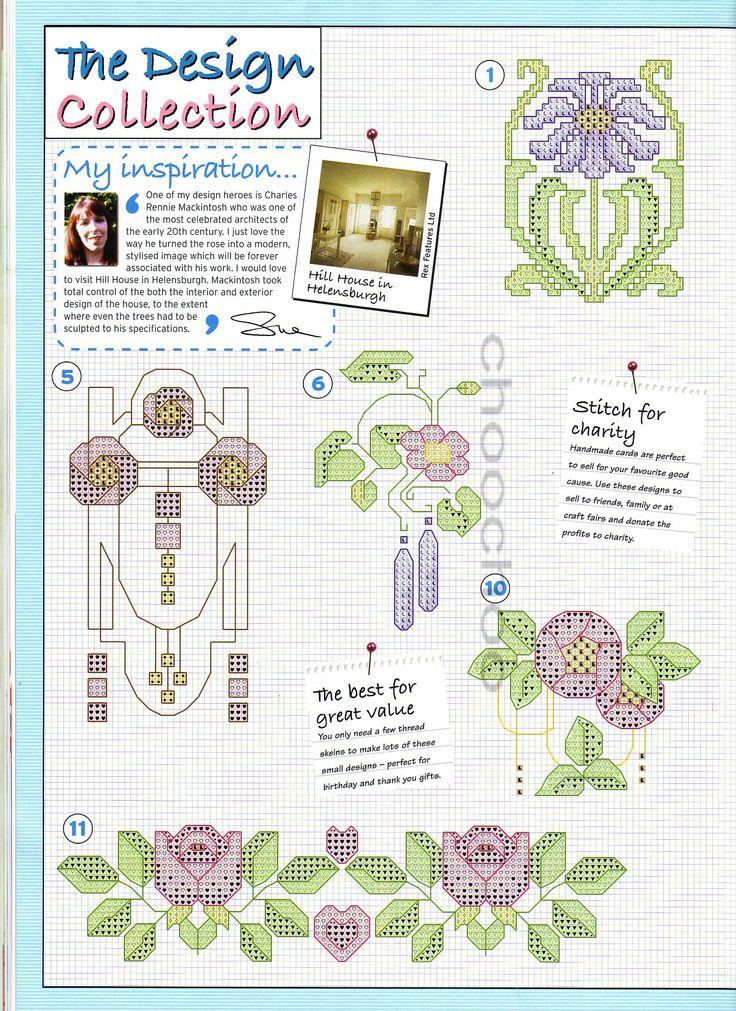 The world of cross stitching 096 апрель 2005